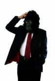 1695223-businessman-in-a-gorilla-mask-confused-and-scratching-his-head