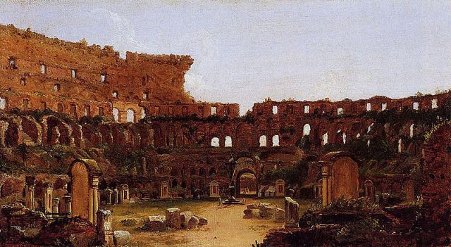 800px-Cole_Thomas_Interior_of_the_Colosseum_Rome_1832