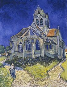 464px-Vincent_van_Gogh_-_The_Church_in_Auvers-sur-Oise,_View_from_the_Chevet_-_Google_Art_Project